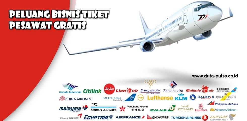 peluang bisnis tiket pesawat