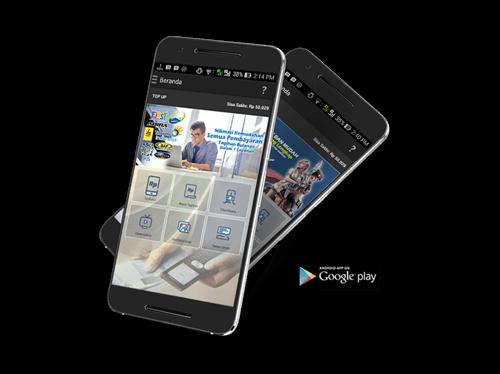 transaksi isi pulsa,pembayaran tagihan pln, pdam, telkom melalu mobile topup
