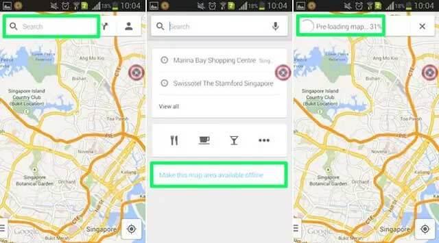 ubah pengaturan google maps untuk menghemat kuota