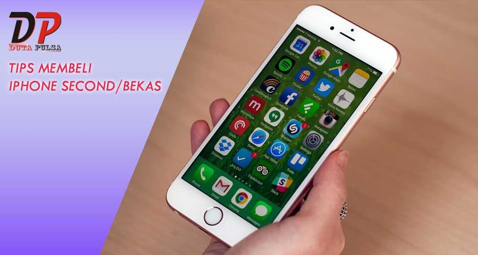 tips membeli iphone second / bekas
