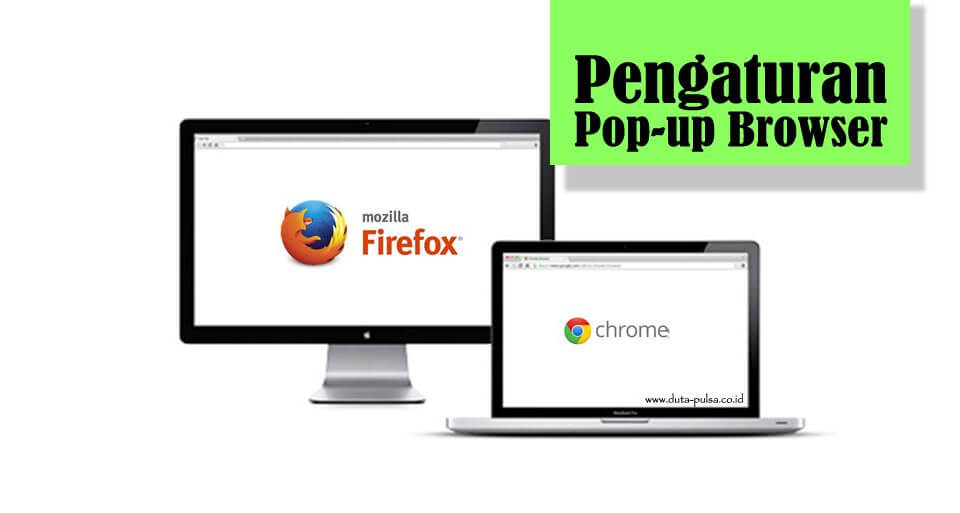 pengaturan pop-up browser