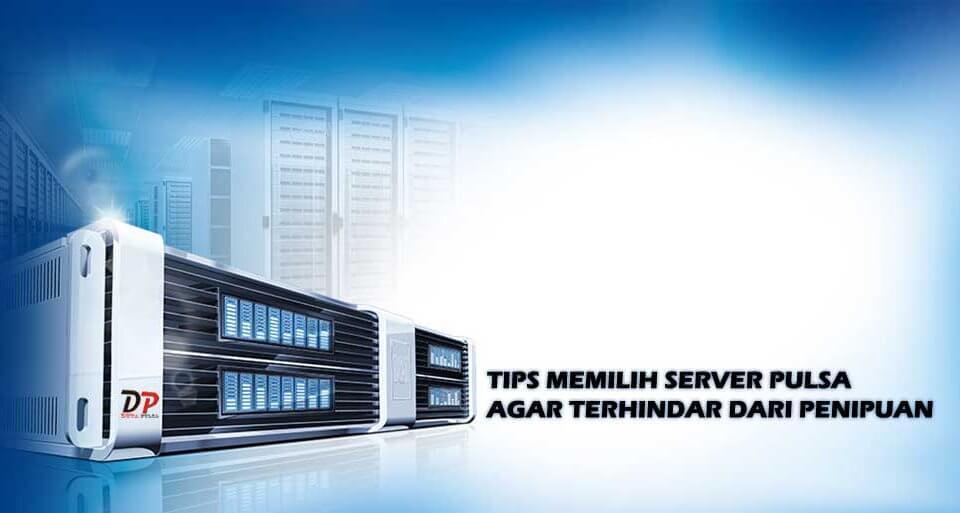 memilih server pulsa paling aman
