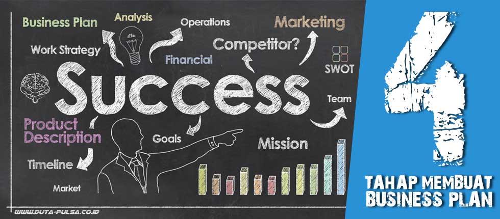 4 tahap membuat business plan yang baik