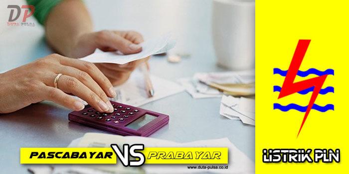 listrik prabayar vs pascabayar
