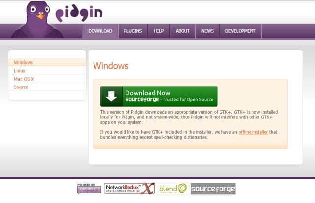 Cara Install Pidgin - Cara Download Pidgin