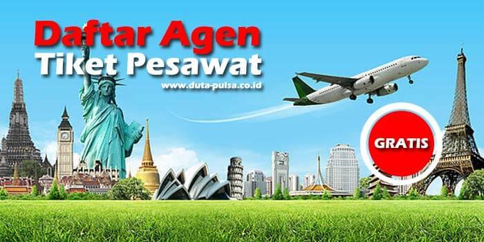 daftar agen tiket pesawat gratis