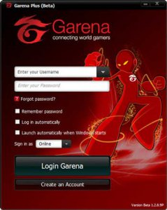 garena plus login page