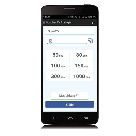 beli voucher tv prabayar melalui mobile topup 2.5