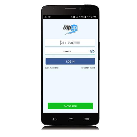 Login Mobile Topup 2.5