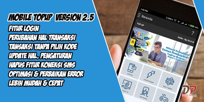mobile topup terbaru versi 2.5