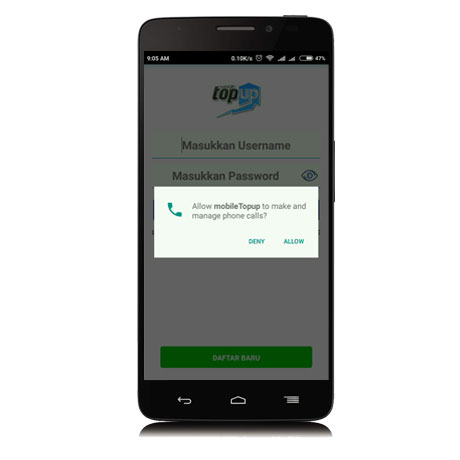 Permission Mobile Topup