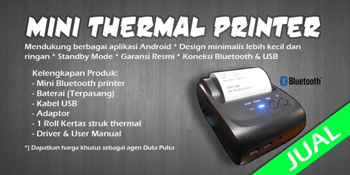 Jual Printer Thermal Bluetooth Android Termurah