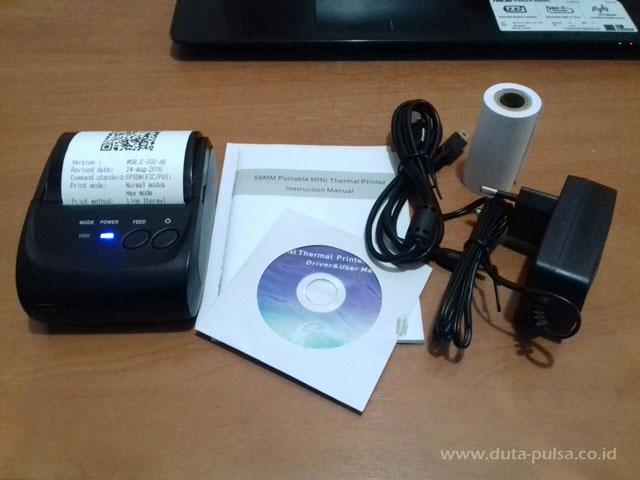 printer thermal bluetooth termurah