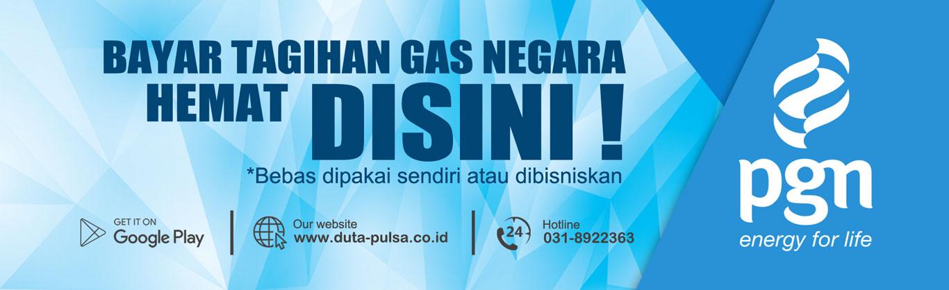 Bayar Tagihan Gas PGN