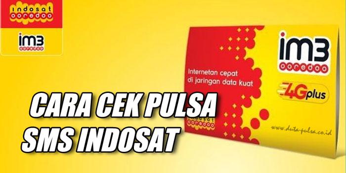Cara Cek Pulsa SMS Indosat
